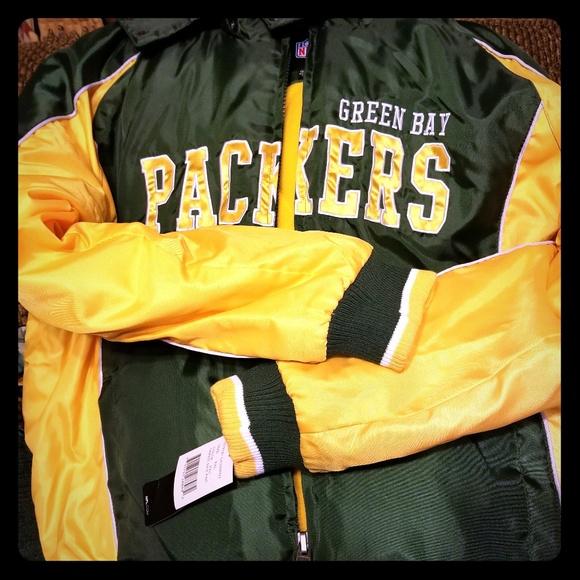 17676796 Green Bay Packers-NFL Football Jacket NWT